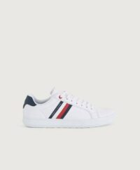 Tommy Hilfiger Sneakers Essential Leather Cupsole Vit