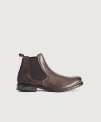 Sneaky Steve Chelseaboots Closer Leather Shoe Brun