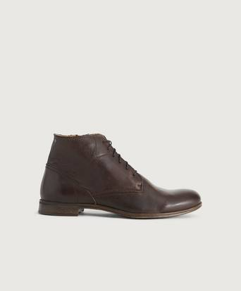 Sneaky Steve Kängor Dirty Mid Leather Shoe Brun