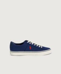 Polo Ralph Lauren Sneakers Polo Leather Sneaker Blå