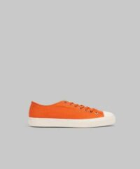 Sneaky Steve Sneakers Swing Low Canvas Burned Orange Röd