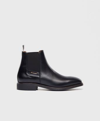 Gant Boots James Chelsea Leather Svart
