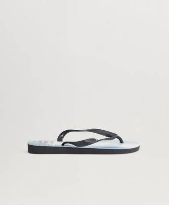 Havaianas Flip Flops Top Photo Print Black / Black Svart