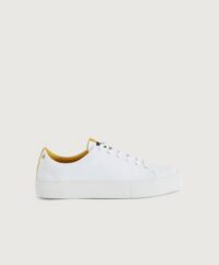 Sneaky Steve Sneakers Level Leather Shoe Vit